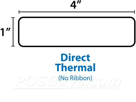 Label Barcode Direct Thermal 60mmx40mm Diskon 10010045 r zebra direct thermal single rolls posguys