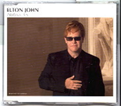 elton john original sin elton john cd single at matt s cd singles