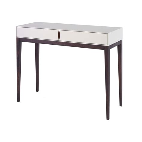 White Console Table Buy Luxurious Ivory White Slim Console Table From Fusion Living