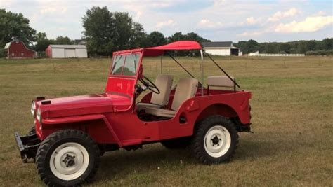 1947 willys jeep parts low reserve 1947 willys jeep cj2a completely restored