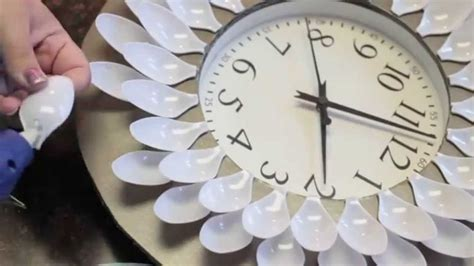 How To Make A Clock With A Paper Plate - diy 20 dollar wall clock