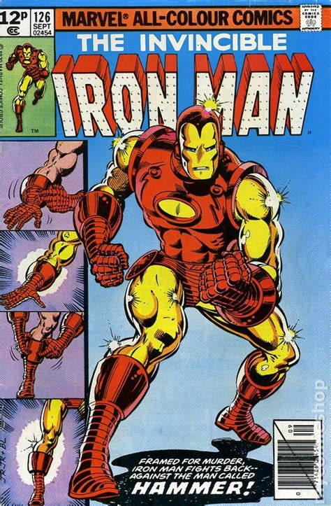 iron in my books iron comic books issue 126