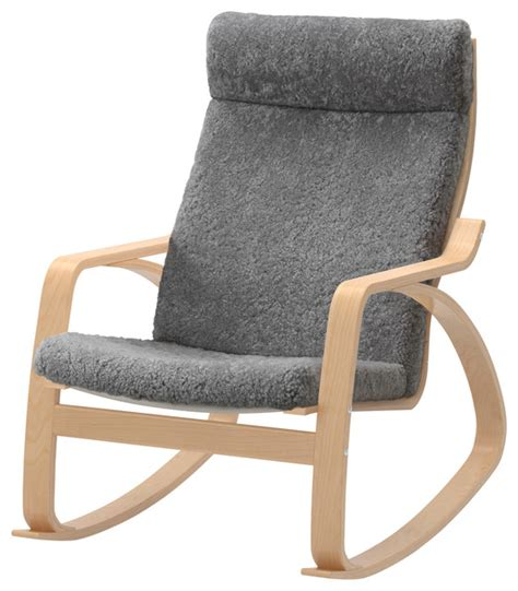 Po 228 Ng Rocking Chair Lockarp Gray Scandinavian Rocking Poang Rocking Chair For Nursery
