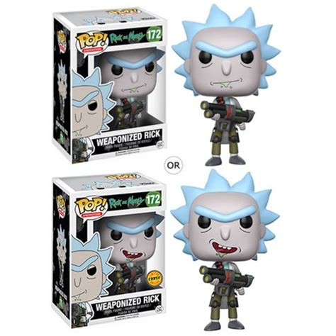 Funko Rick And Morty Snowball Pop Vinyl 12445 rick and morty weaponized rick pop vinyl figure funko rick and morty pop vinyl figures