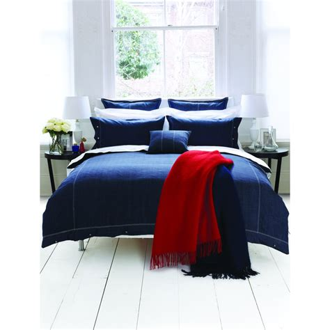 bedeck duvet covers bedeck hton denim navy duvet cover bedeck from
