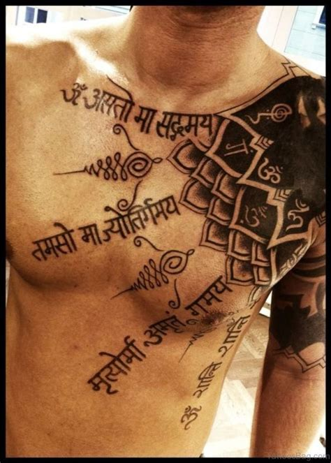 tattoo quotes in hindi 50 glorious chest tattoos for men
