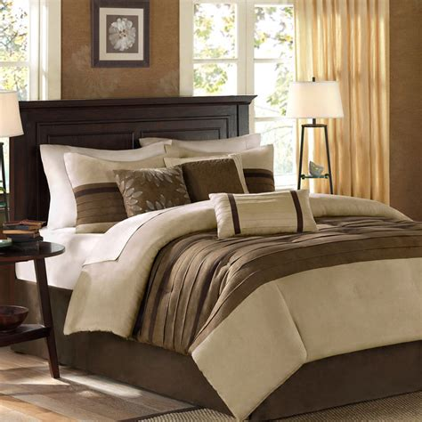 king bed comforters beautiful modern elegant beige tan brown soft comforter