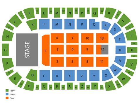 Toyota Center Kennewick Events Toyota Center Wa Seating Chart Events In Kennewick Wa