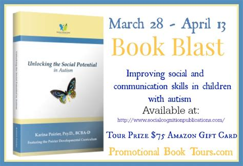 my autistic awakening unlocking the potential for a well lived books unlocking the social potential in autism book tour win