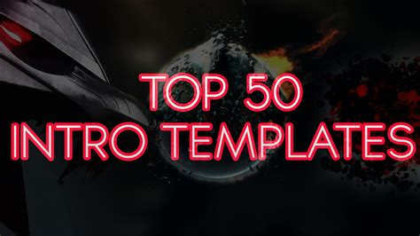 top 50 2d 3d intro templates sony vegas pro rkmfx