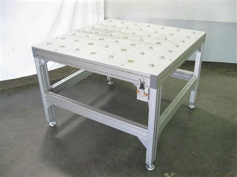 industrial roller ball transfer table 43 quot x 43 quot x 32