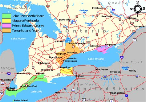 ontario wine regions and wineries