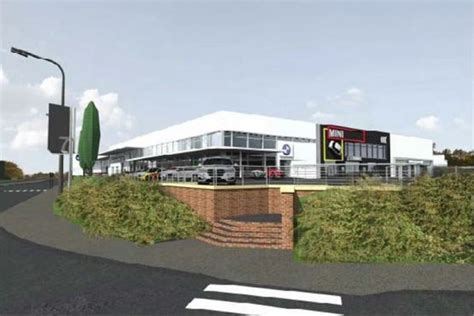 sytner volvo work gets underway at new bmw and mini sytner site
