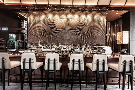 Art Deco Decorating Ideas ammo restaurant and bar in hong kong home interior