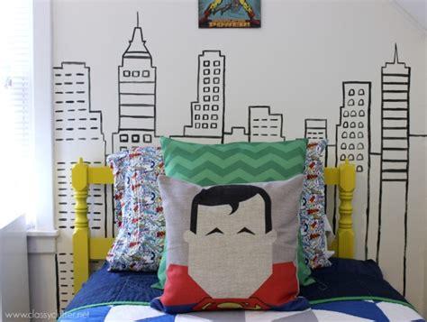 superhero kids bedroom bright and modern superhero themed room for three boys