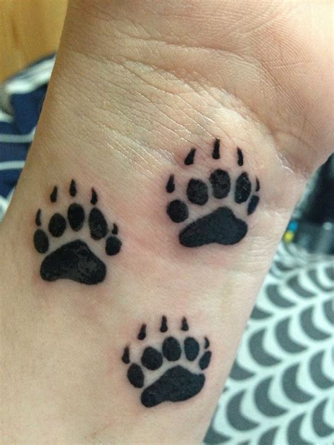 paws tattoo paw tattoos designs ideas and meaning tattoos for you