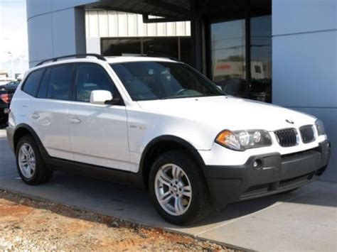 bmw x3 power purchase used 2004 bmw x3 4dr awd 3 white suv 3 0l power