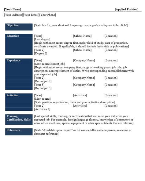 membuat curriculum vitae dalam bahasa inggris contoh format curriculum vitae yang menarik contoh surat org