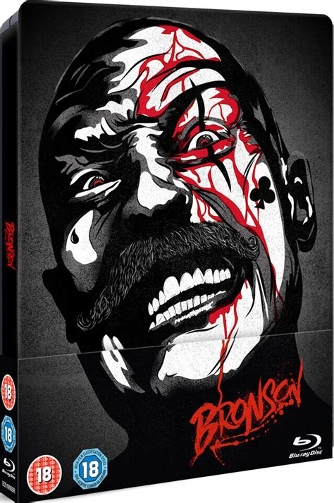 Kaos 3d Fox Limited Edition bronson zavvi exclusive limited edition steelbook zavvi