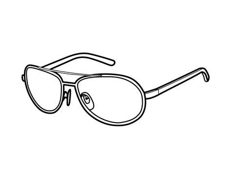 Desenho de Óculos pequeno para colorir   Tudodesenhos