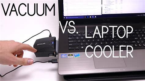 laptop fan reviews opolar lc05 vacuum fan vs laptop cooler review youtube