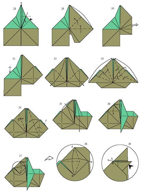 Simple Origami Yoda - faire yoda en origami printf