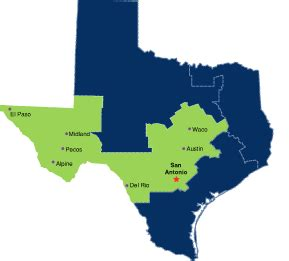 western district of texas map texas bankruptcy courts culhane pllc
