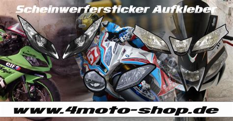 Motorrad Scheinwerfer Aufkleber by Motorradaufkleber Bikedekore Wheelskinzz Headlight