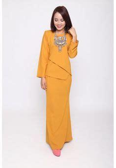 Baju Muslim 35263 C Fiona fesyen trend terkini bianco mimosa axiom baju kurung moden baju raya 2017 fesyen trend terkini
