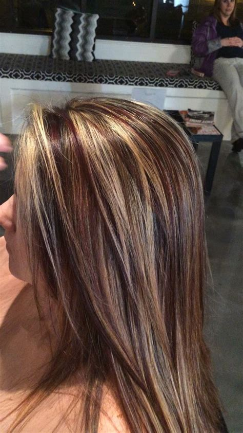 foil hair colors with blondies 17 best ideas about brown blonde highlights on pinterest