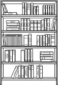 Black Bookcase 2 Shelf Image Search Results Bookcase Vector Art Holmes