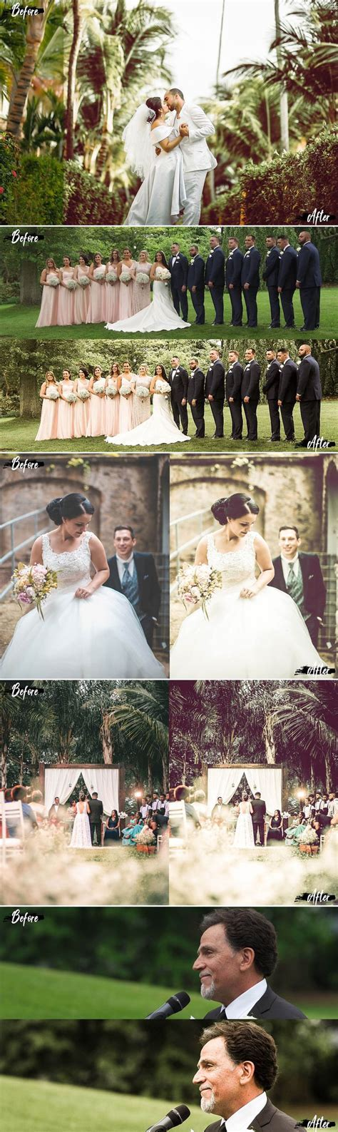 Neo Summer Wedding Theme Color Grading photoshop actions