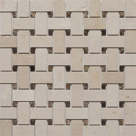 basketweave tile bathroom basketweave mosaic tiles traditional mosaic tile by mission stone tile