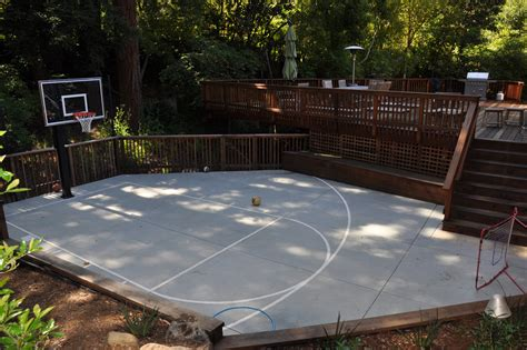 sports courts for backyards backyard basketball court landscape traditional with