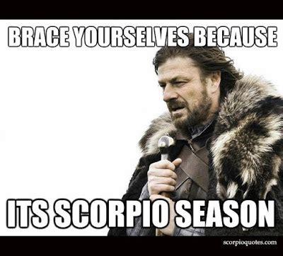 Scorpio Memes - 16 scorpio season meme scorpio quotes