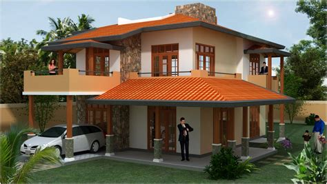 Home Design Company In Sri Lanka by Desi Plan Singco Engineering Dafodil Model House