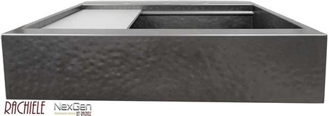 black stainless steel farmhouse sink custom retrofit replacement stainless apron farmhouse sinks