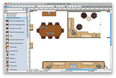 office layout planning tool interior design building drawing software for design