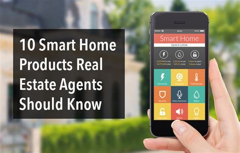 smart technology products smart home tech real estate agents should know