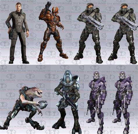 halo 4 figures halo 4 new characters revealed via figures