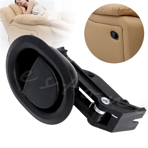 recliner chair handles 1pc recliner sofa chair oval release lever handle black