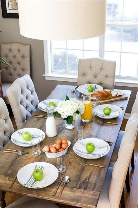 25 best ideas about farmhouse dining tables on
