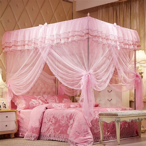 pink canopy bed curtains pink canopy bed curtains home design