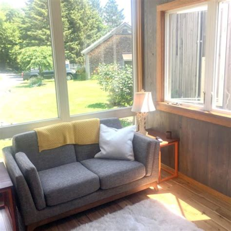 Bed Built Into Floor by The 12ft Adirondack Tiny House With Secret Bed Built