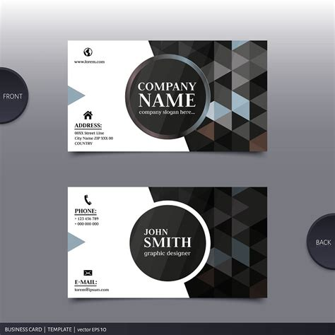 company profile design eps professional name card design professional design heroes