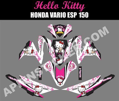 Sticker Striping Motor Stiker Honda Beat Hello Elen 1 Spec B 1 striping motor vario 150 esp hello apien sticker