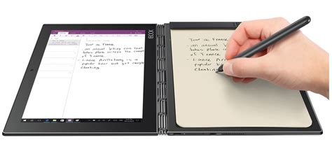 Tablet Lenovo Note book the ultimate 2 in 1 productivity tablet