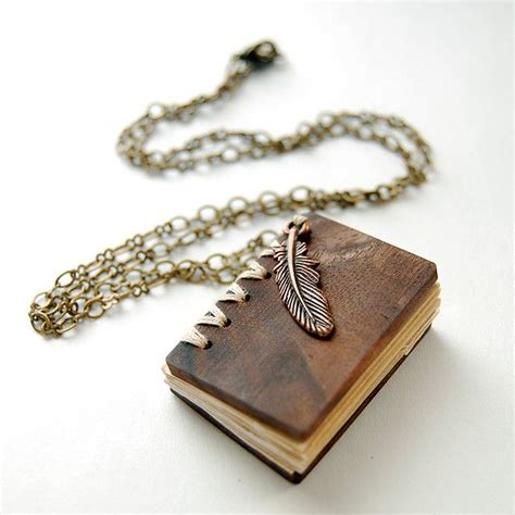17 best ideas about book necklace on book