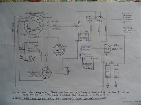 17 acr wiring diagram lucas alternator alternator