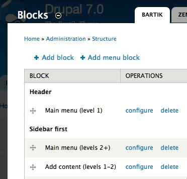 theme drupal menu block menu block drupal org